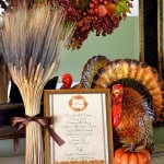 Virtual Progressive Thanksgiving Dinner Party {And Free Coordinating Printables!}