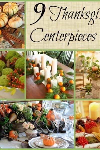 Worthing Court: 9 Thanksgiving Centerpieces