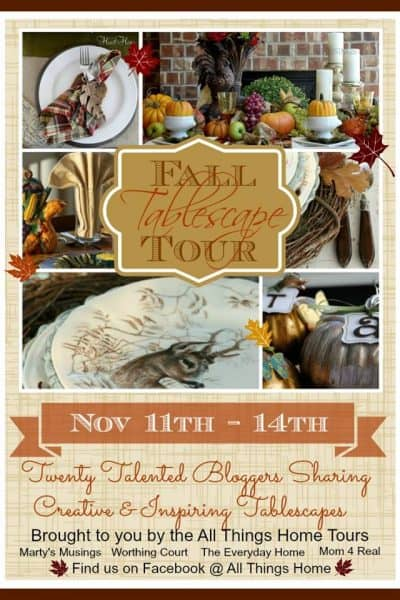 Worthing Court: All Things Home Thanksgiving Tablescape Showcase