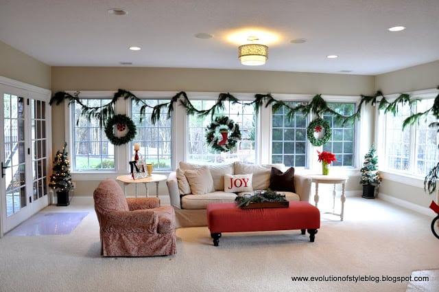 Evolution of Style: Christmas decor