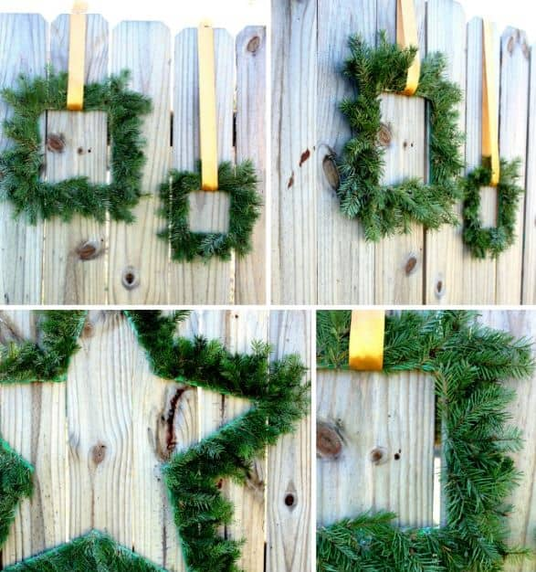 Rain On A Tin Roof: DIY Christmas Wreaths