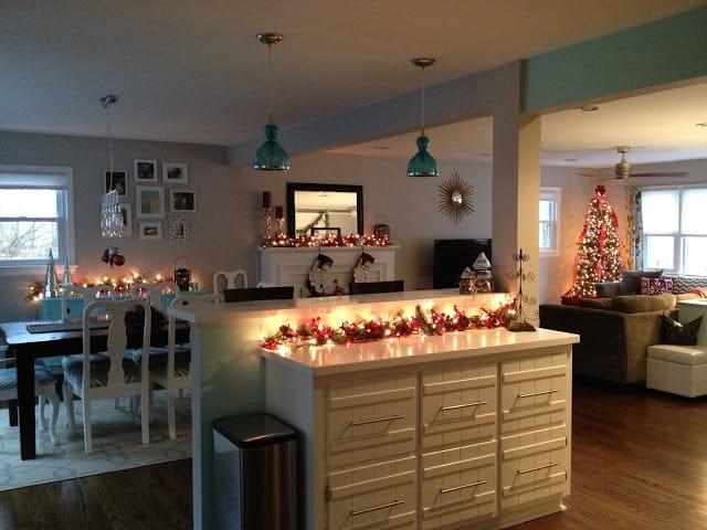 Retro Ranch Reno: Christmas decor