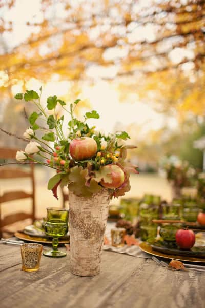 Worthing Court: Thanksgiving Centerpiece Inspiration