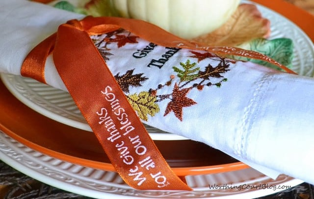 Worthing Court: Easy and Thrifty Napkin Rings