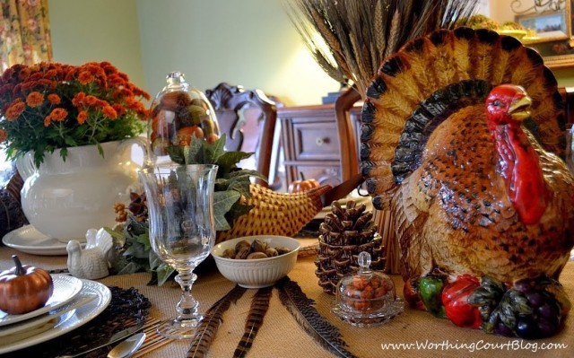 Worthing Court: Bounty of the Harvest Thanksgiving Tablescape