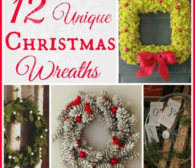Worthing Court: Unique Christmas Wreath Roundup