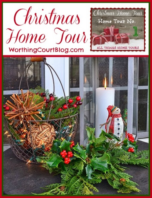 Worthing Court: Christmas home tour