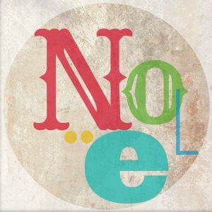 Worthing Court: Free NOEL ornament printable