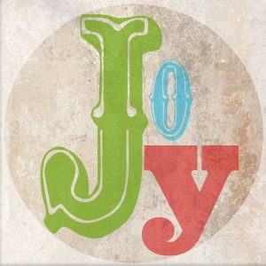 Worthing Court: Free JOY ornament printable