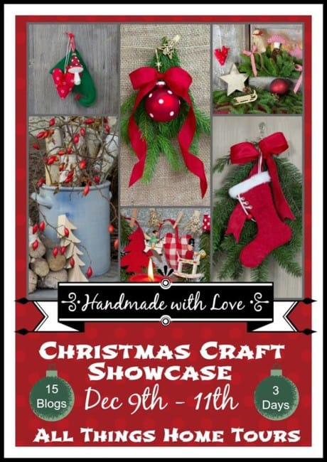 Christmas Craft Showcase poster.