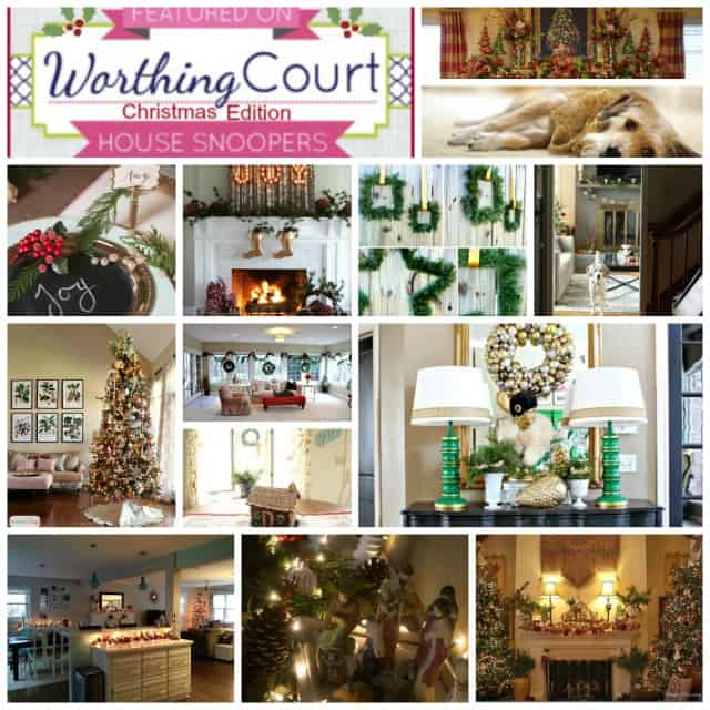 Worthing Court: Christmas memories from favorite blogger homes