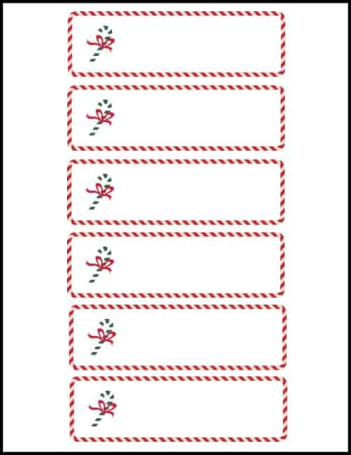 Free Cute Christmas Place Card Printable Worthing Court – Place Setting Template