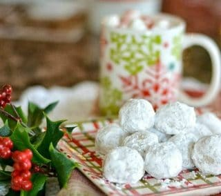 Recipe For Pecan Meltaway Balls Christmas Cookies