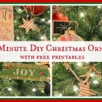 6 Last Minute DIY Christmas Ornaments