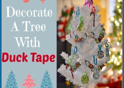 Decorate Your Tree With Duck Brand® Tape