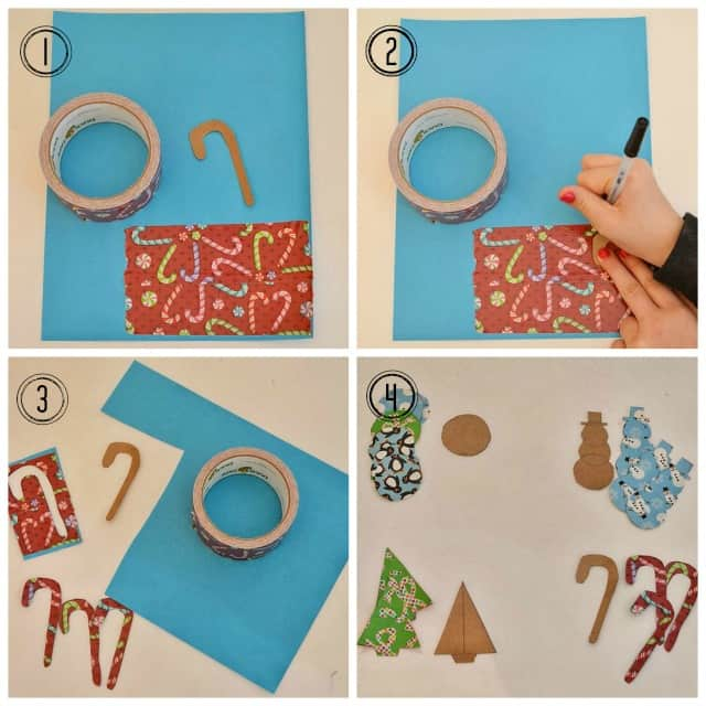 Worthing Court: Kid friendly Christmas ornament craft using Duck Tape