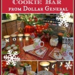 Hot Cocoa And Christmas Cookies Table