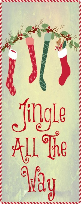 Worthing Court: Free Jingle All The Way Printable