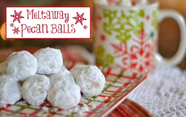 Worthing Court: Recipe for Meltaway Pecan Balls