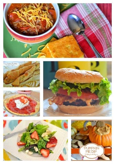 Worthing Court: recipe collage