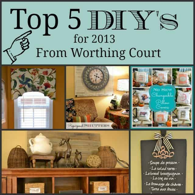 Worthing Court: Top 5 Projects for 2013