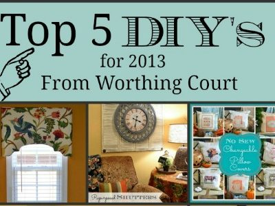 Top 5 DIY Tutorials From 2013