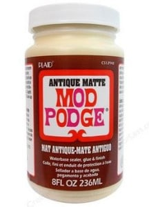 antique modpodge