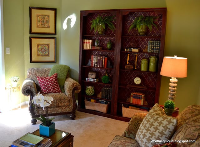 Worthing Court: Tips for updating a living room without buying new furniture or changing the wall color