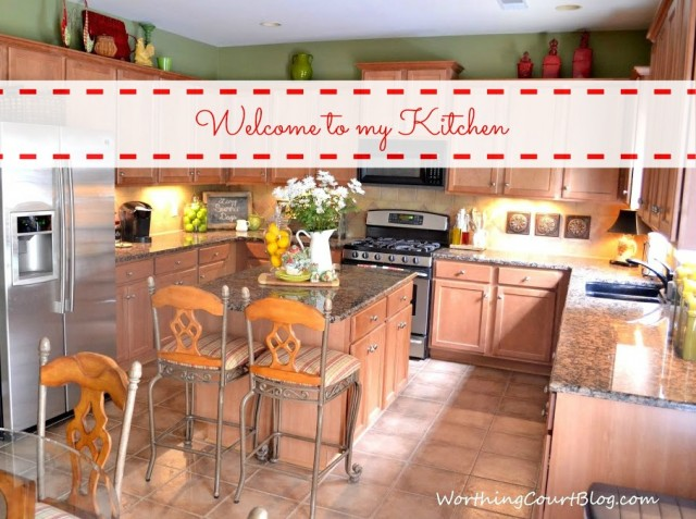 Worthing Court: kitchen tour