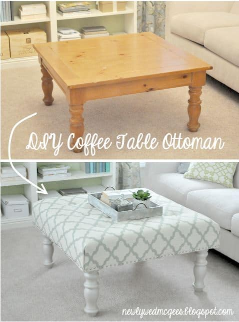 Loads of tips for low budget decorating. Completely change the look of a room by rethinking how a piece of furniture is used.
