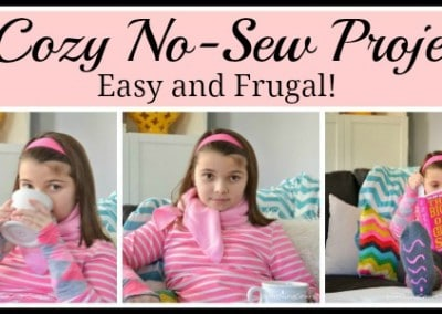 3 Cozy No-Sew Projects