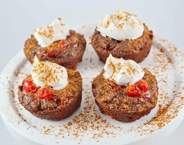 Recipe for Fudge Brownie Cherry Bites