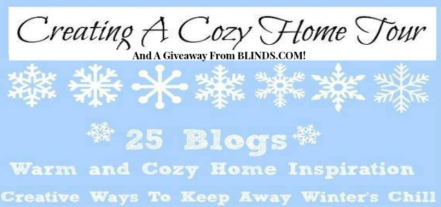 Creating A Cozy Home Tours And A Giveaway