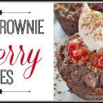 Fudge Brownie Cherry Bites Recipe