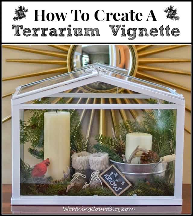 Worthing Court: How to create a terrarium vignette
