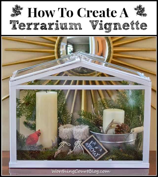 Worthing Court: How to create a terrarium vignette