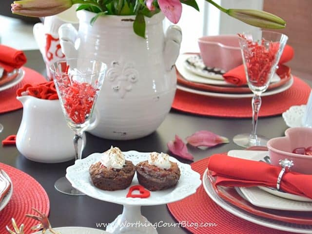 Valentine's Day desert: Fudge Brownie Cherry Bites