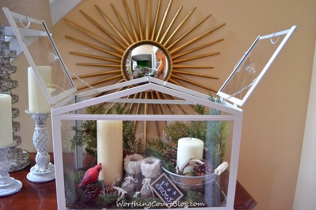 Worthing Court: How to create a vignette in a terrarium
