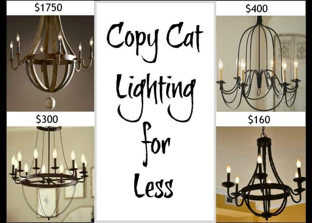 Where to find copycat lighting for less