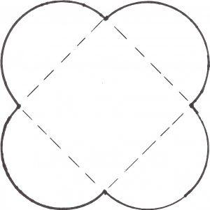 template for mini envelopes