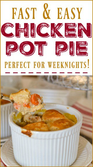 Quick To Prepare Weeknight Chicken Pot Pie Recipe