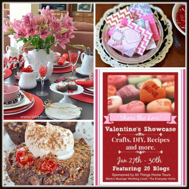 Valentine's Day projects from Worthing Court