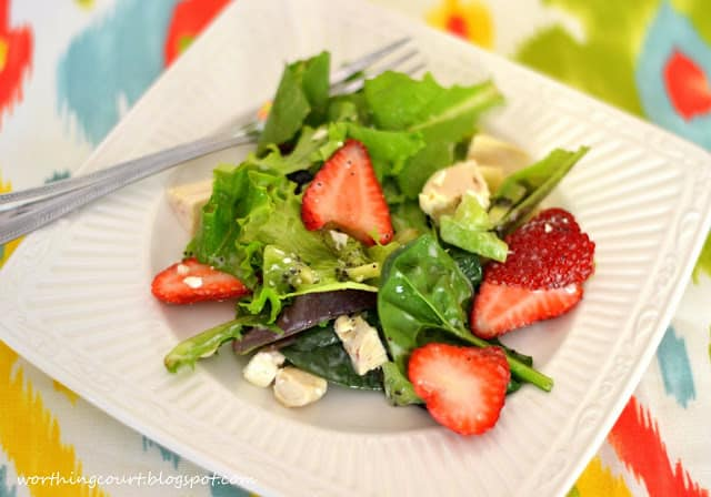 Recipe for Strawberry Chicken Salad