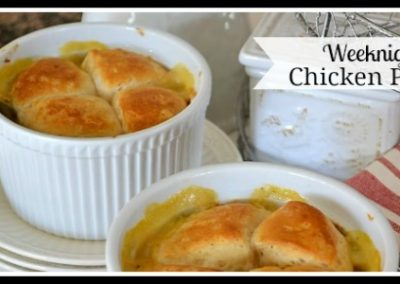 Weeknight Chicken Pot Pie Recipe