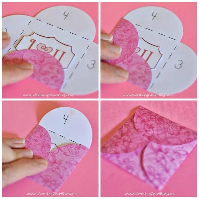 How to make mini Valentine cards