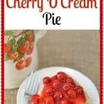Cherry O'Cream Pie Recipe