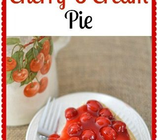 Cherry O'Cream Pie Recipe