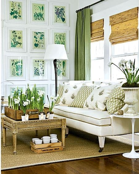 Room Decorating Ideas Sneak In Some Green Worthingcourtblog