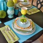 Decorating Ideas For A Spring Table