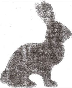 Bunny silhouette template :: WorthingCourtBlog.com